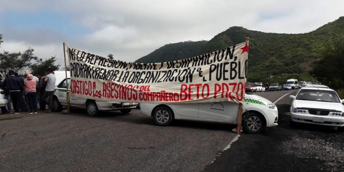 Integrantes de la API bloquean la 190 Huajuapan-Oaxaca | El Imparcial de Oaxaca