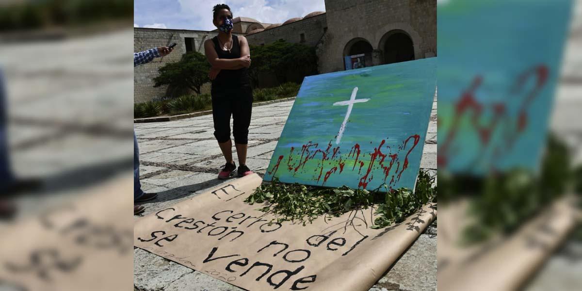 Llaman a defender el Cerro del Crestón   El Imparcial de Oaxaca