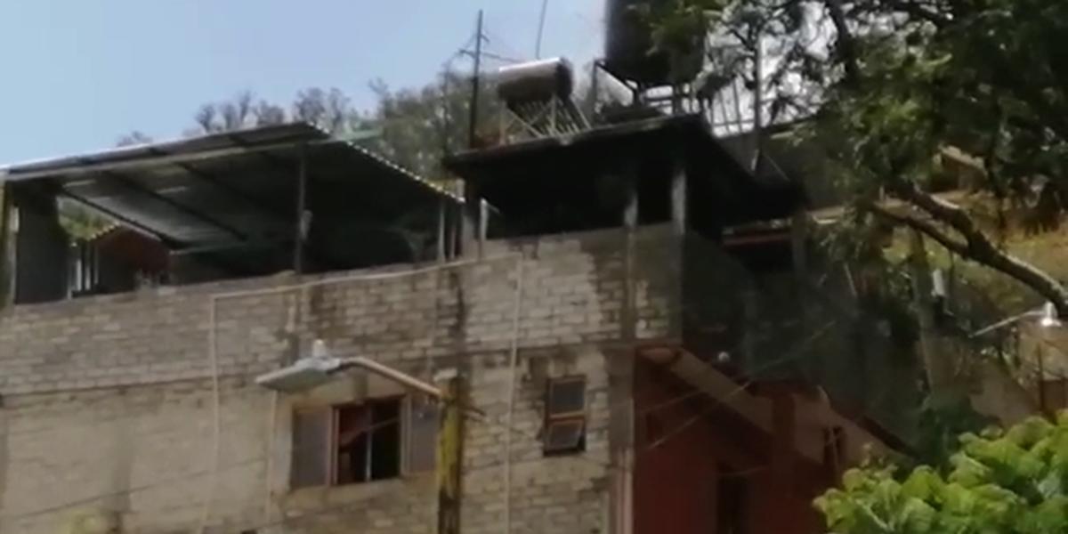 Incendio causa alarma en el Barrio El Coquito