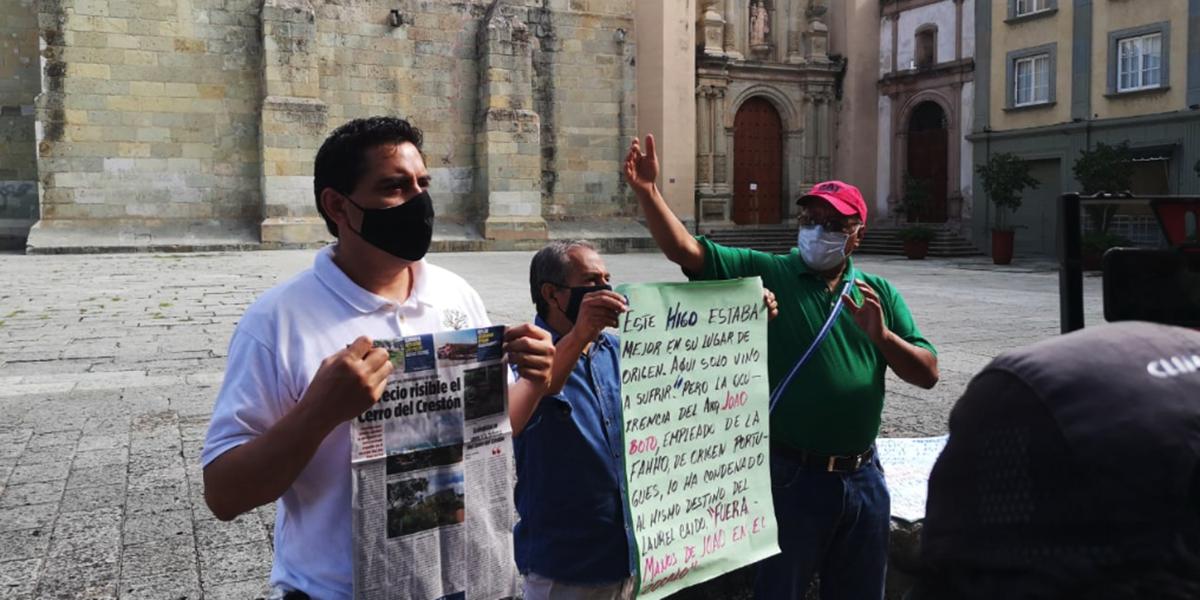 Exigen proteger el Cerro del Crestón   El Imparcial de Oaxaca