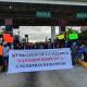 Autoridades Mixtecas toman caseta de Huitzo