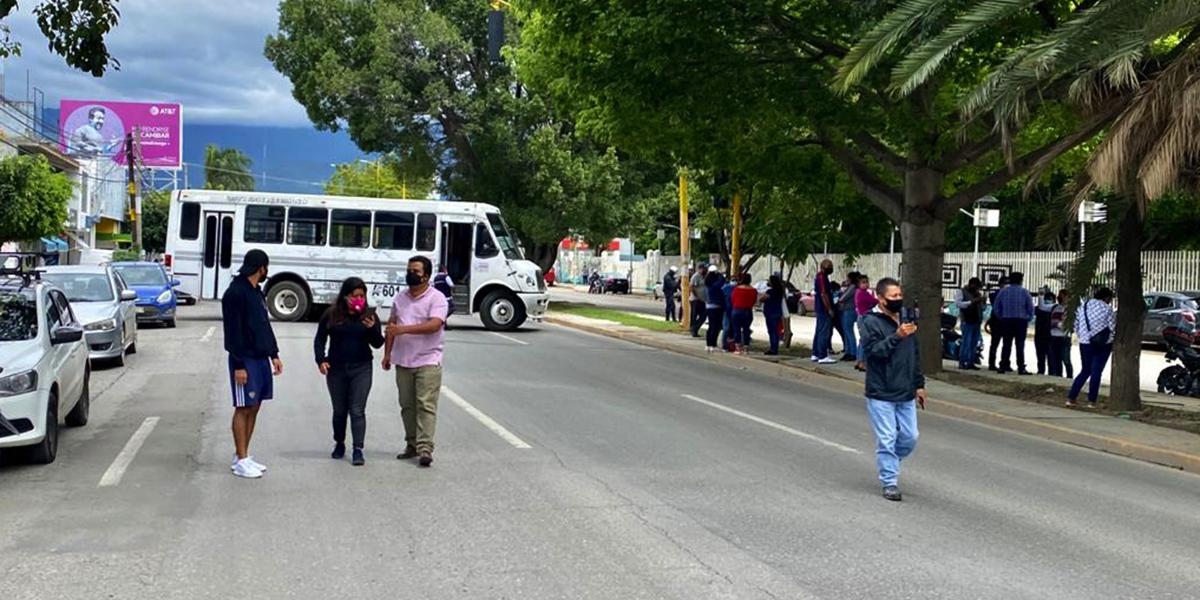 STEUABJO protesta para exigir pago de sueldos | El Imparcial de Oaxaca