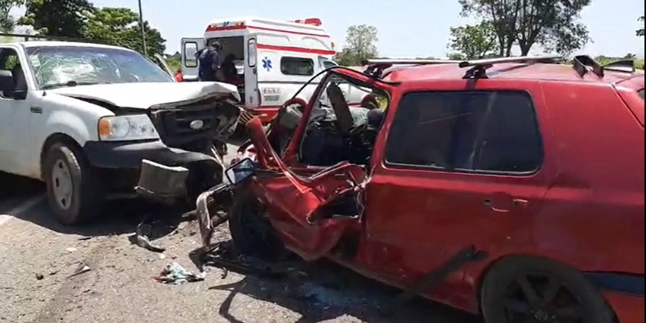 Choque en carretera de Loma Bonita-Tuxtepec deja 9 lesionados | El Imparcial de Oaxaca