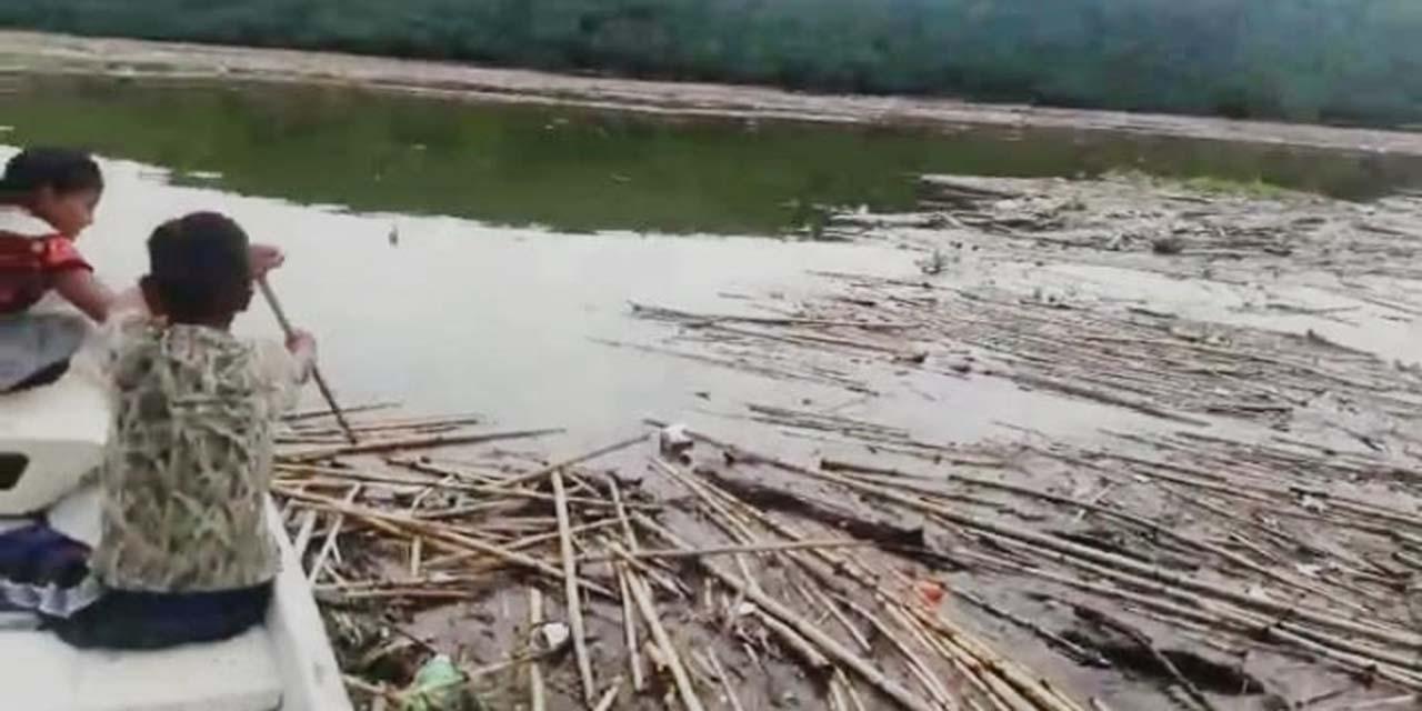 Desechos contaminan  la presa de Yosocuta | El Imparcial de Oaxaca