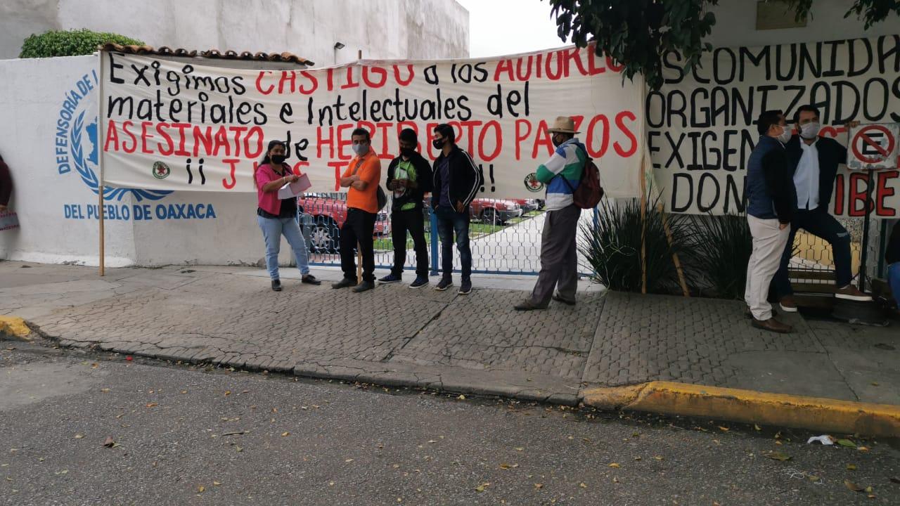 Organización 23 de octubre protesta en la DDHPO | El Imparcial de Oaxaca