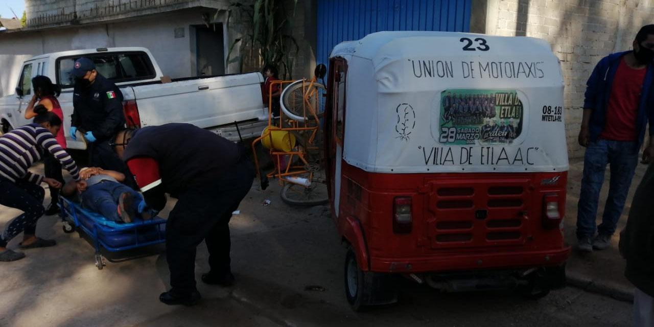Mototaxista arrolla a atolero en Etla | El Imparcial de Oaxaca