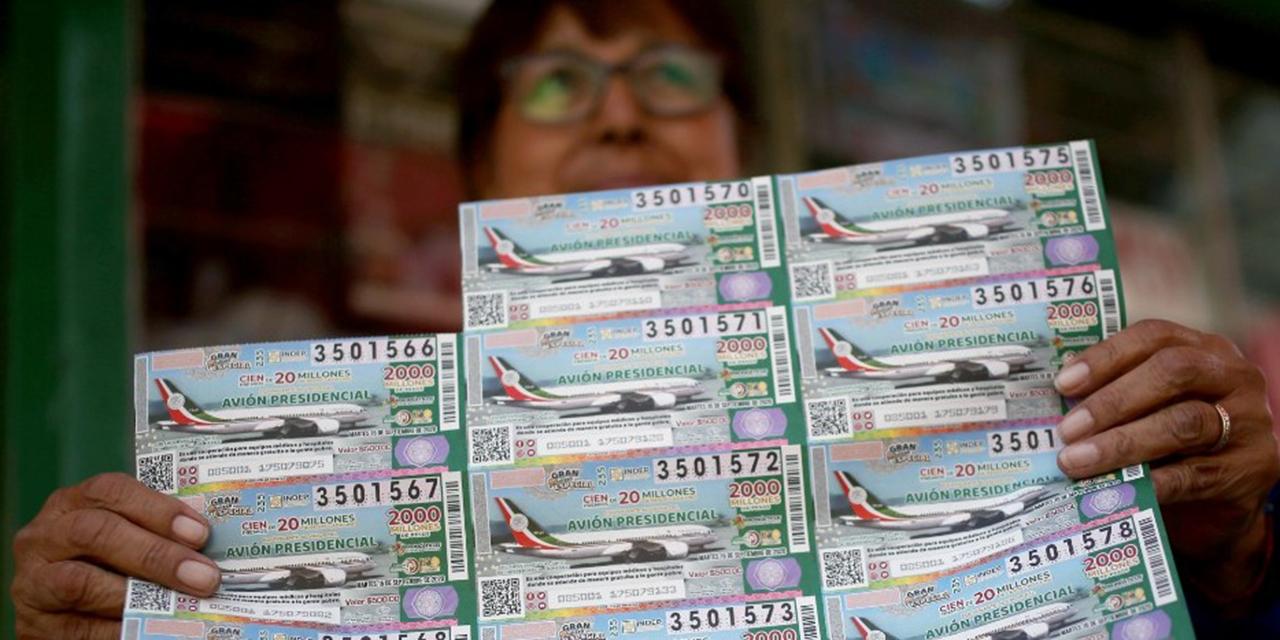 Esta es la lista de ganadores de la rifa del avión presidencial | El Imparcial de Oaxaca
