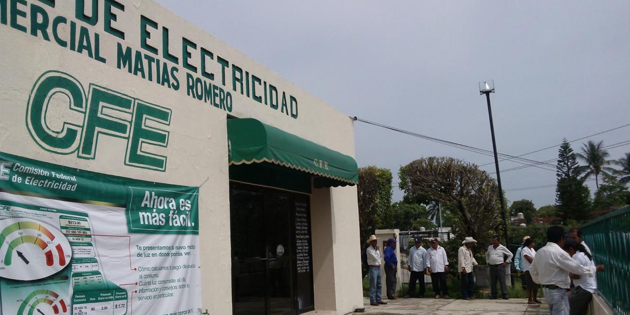 Protestarán por abusos de CFE en el Istmo | El Imparcial de Oaxaca