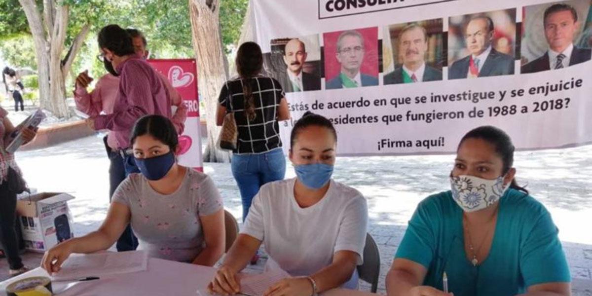 7 millones de pesos costaría realización de consulta nacional para enjuiciar a expresidentes | El Imparcial de Oaxaca
