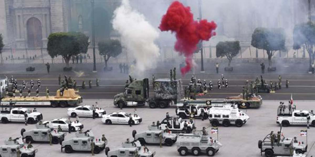 Así se vivió el desfile militar del 16 de septiembre | El Imparcial de Oaxaca