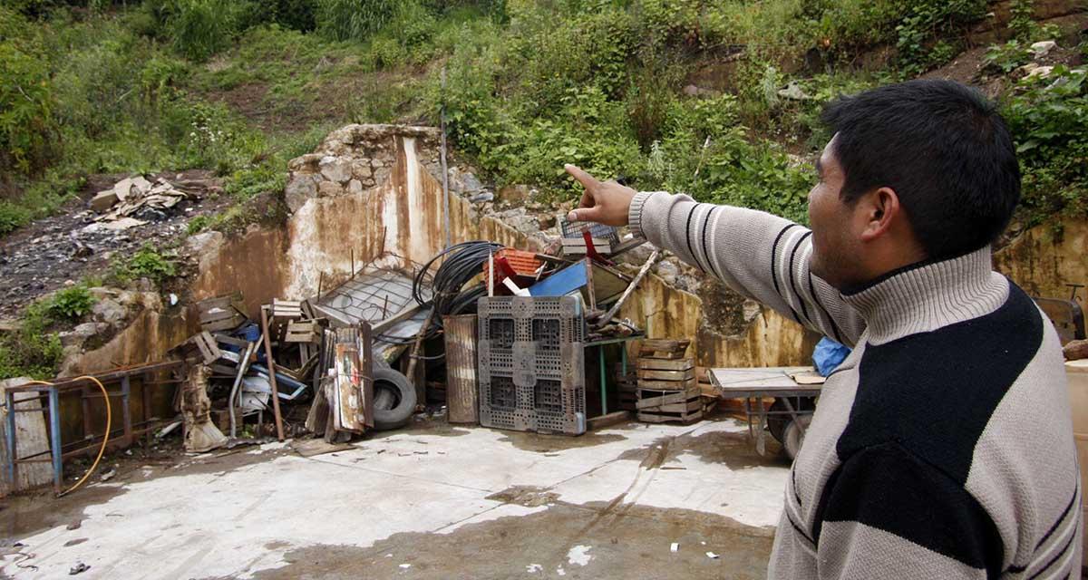 Sepulta alud a poblador de San Juan Comaltepec | El Imparcial de Oaxaca