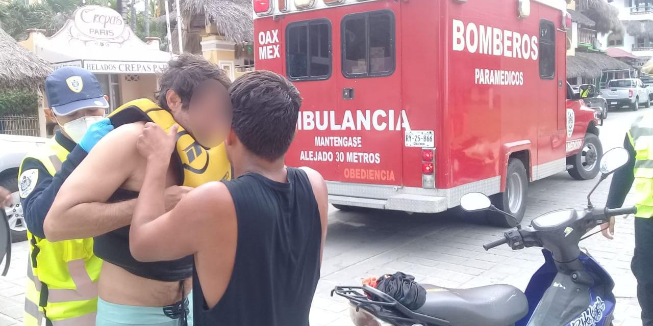 Rescatan a turista brasileño de ahogarse en Puerto Escondido | El Imparcial de Oaxaca