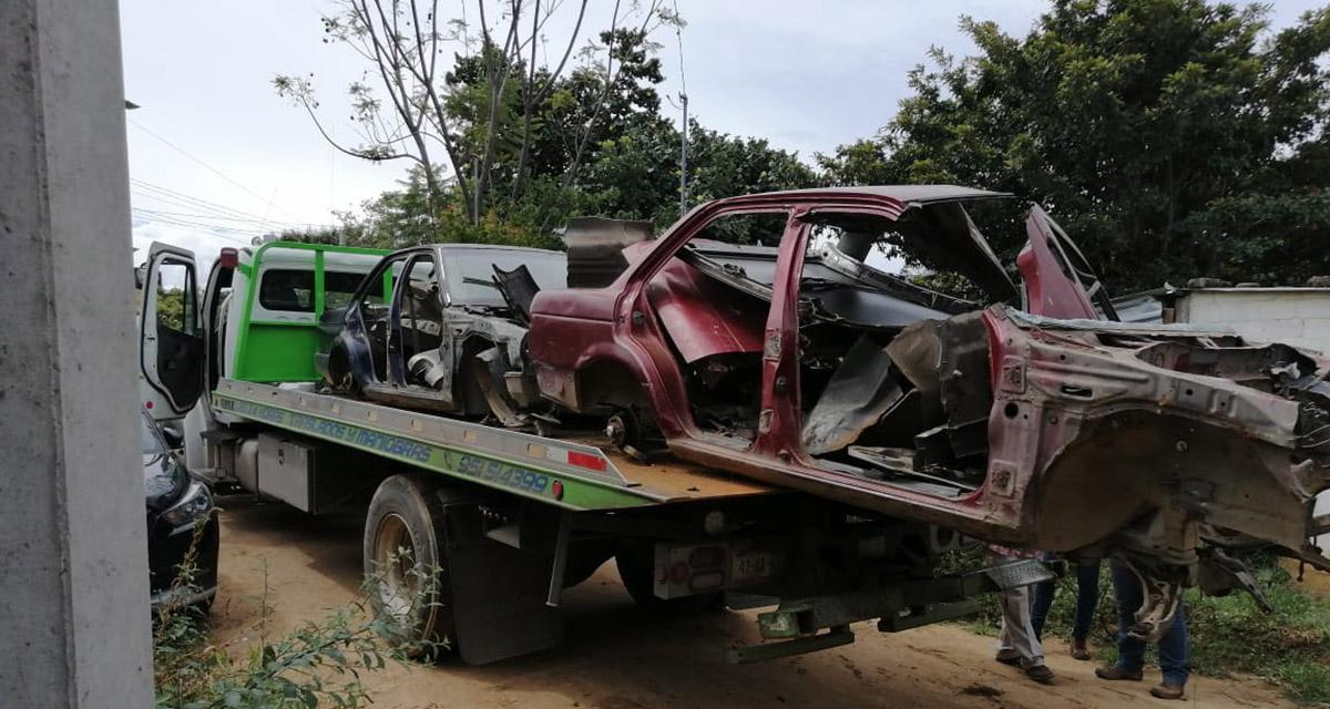 Aseguran vehículos robados en cateo en Xoxo | El Imparcial de Oaxaca