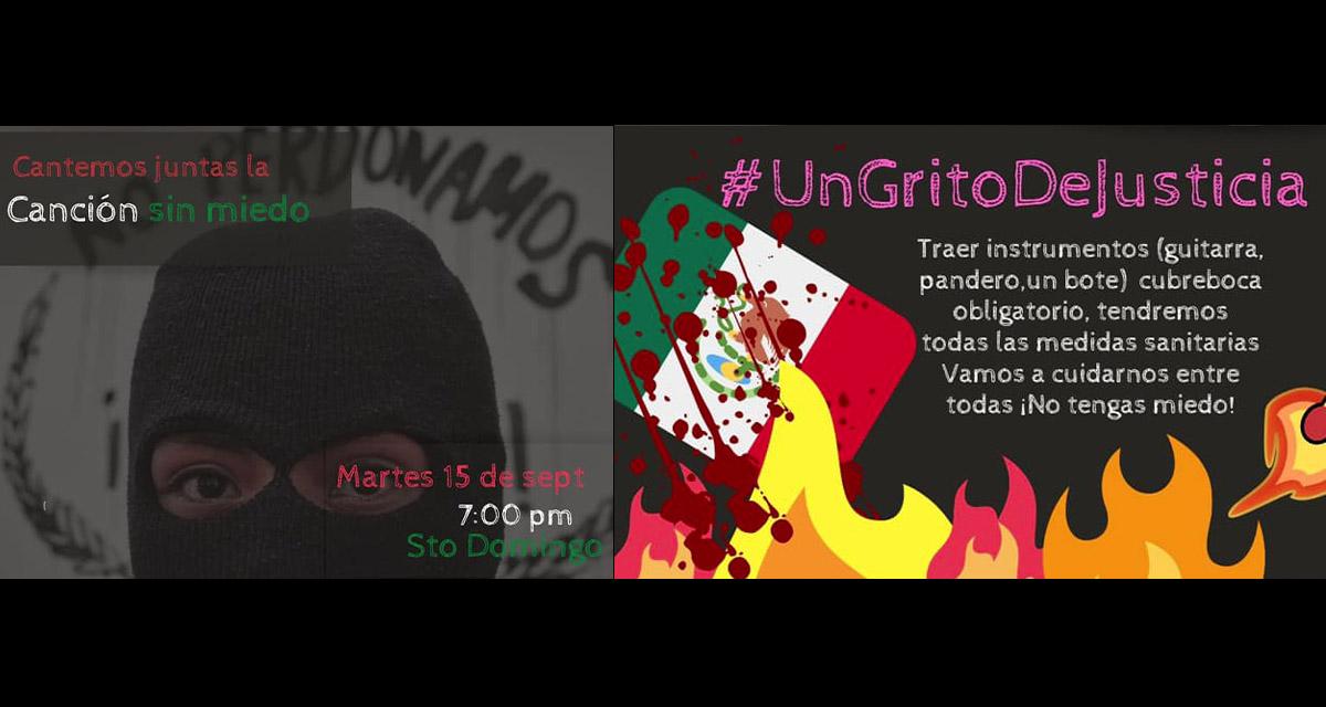 Convocan mujeres a 'Grito de Justicia' el 15 de septiembre | El Imparcial de Oaxaca