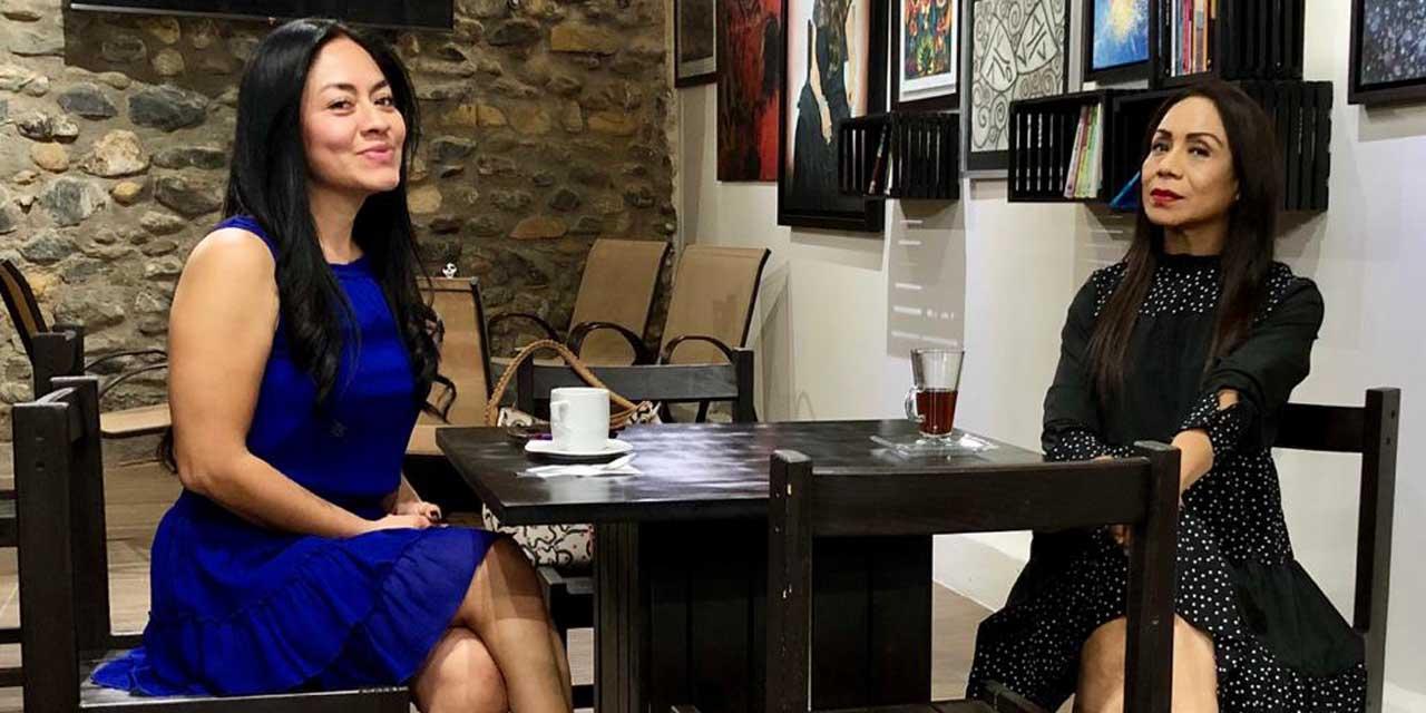 Ivette y Alma se reunieron para compartir sus proyectos | El Imparcial de Oaxaca