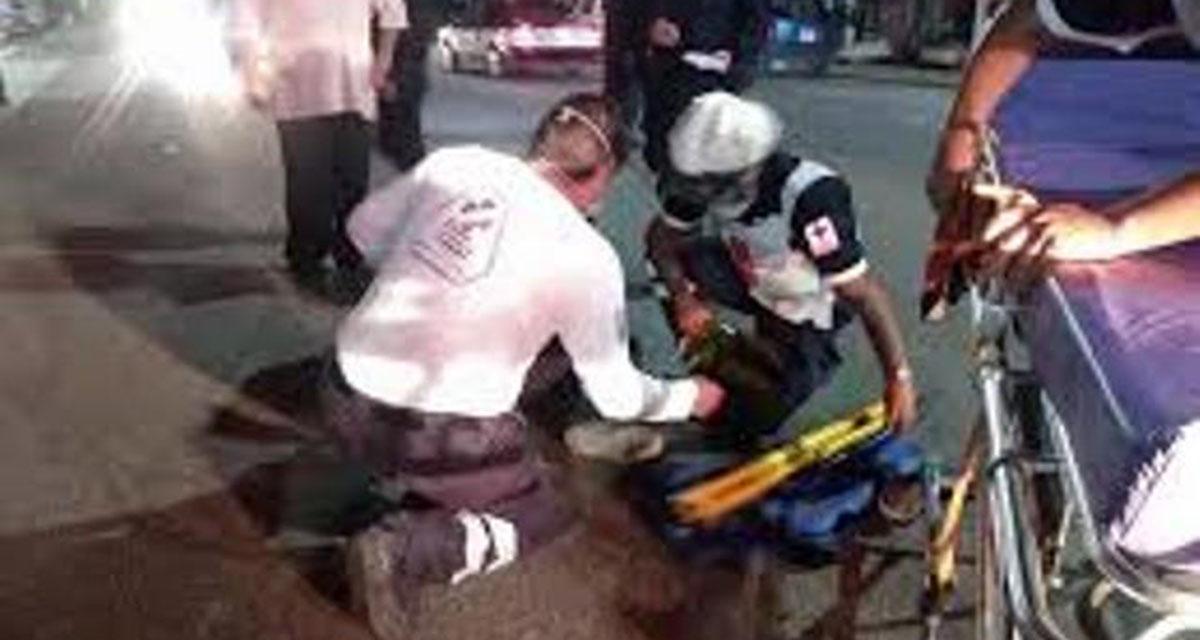 Motociclista derrapa y queda severamente lesionada | El Imparcial de Oaxaca