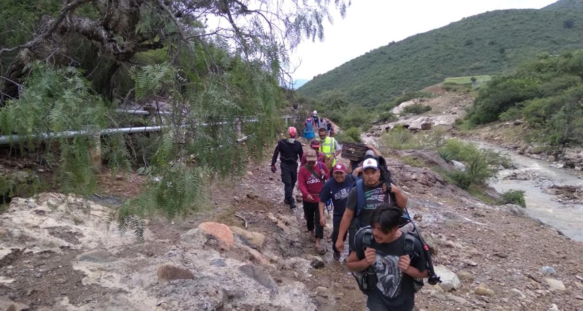 Buscan a menor de edad desaparecido en presa de Magdalena Teitipac, Oaxaca