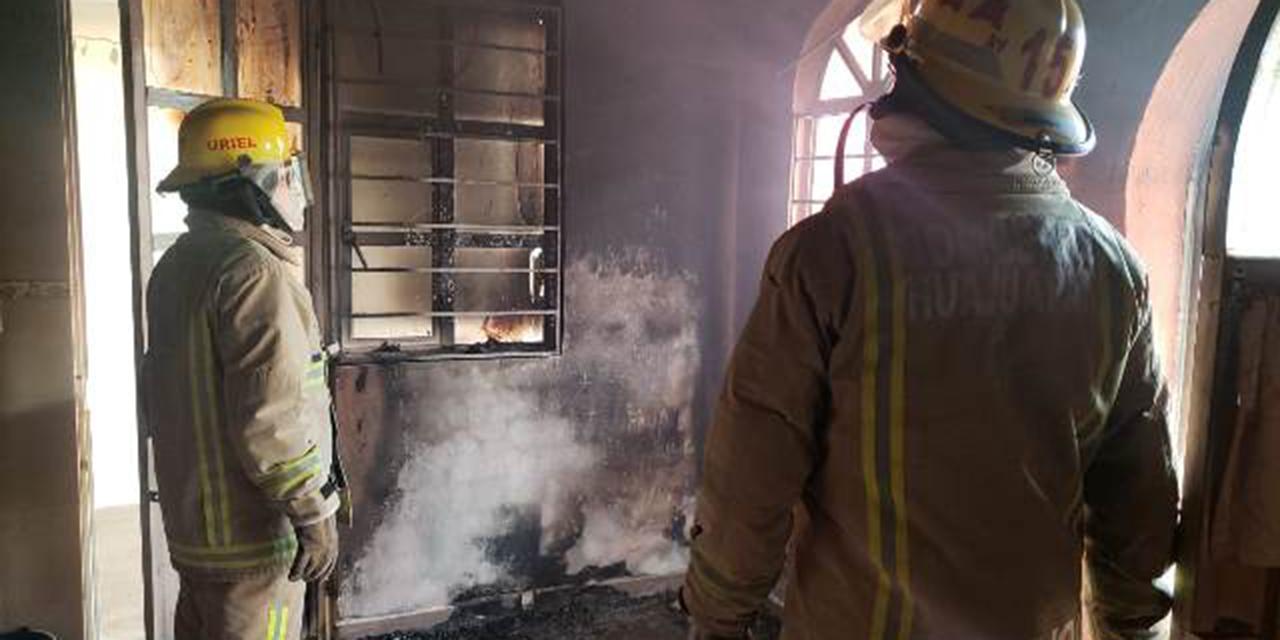 Se incendia vivienda en Acatlima | El Imparcial de Oaxaca