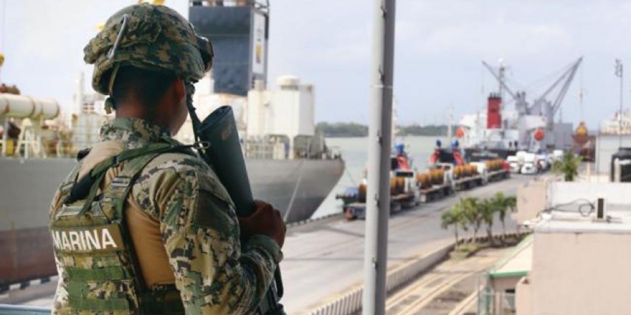 Avanza reforma para militarizar puertos | El Imparcial de Oaxaca