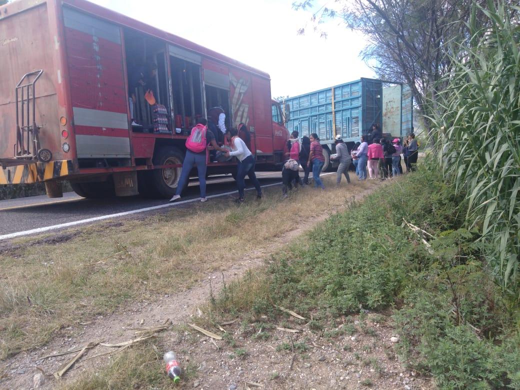 Normalistas roban productos, autoridades omisas | El Imparcial de Oaxaca