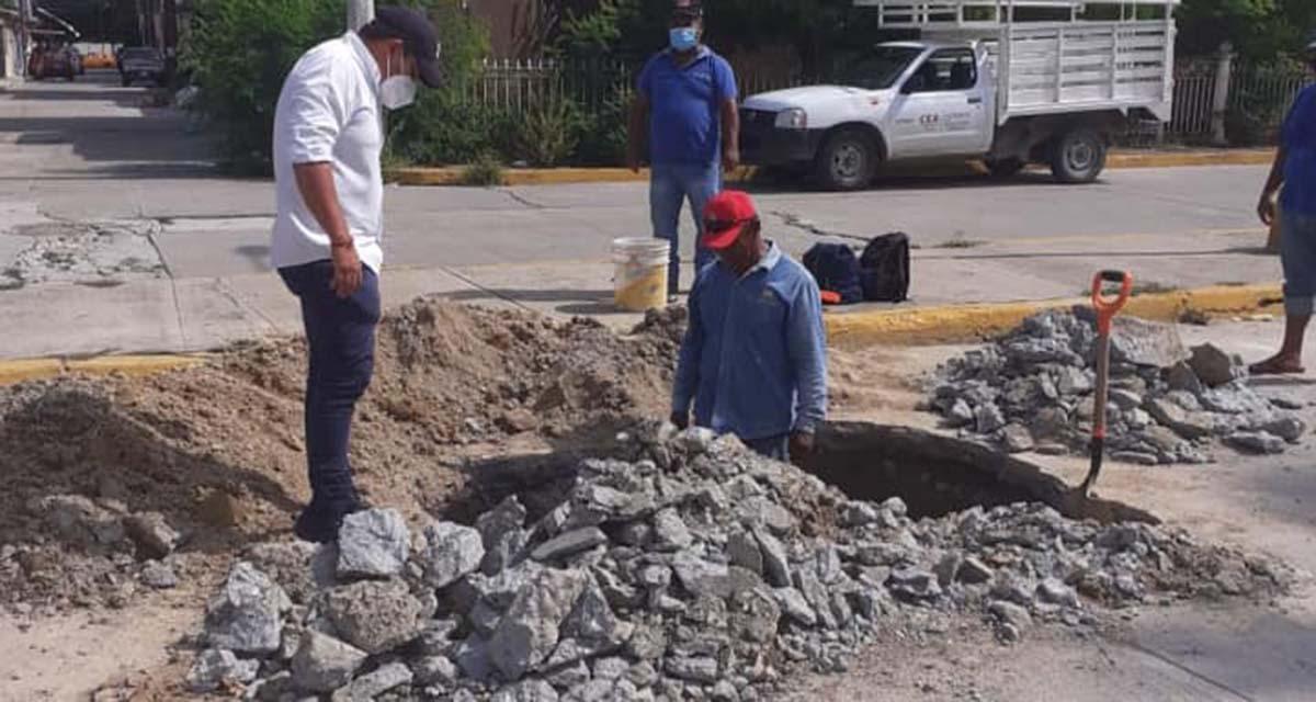 Fugas y deudas afectan al sistema del agua de Salina Cruz, Oaxaca | El Imparcial de Oaxaca