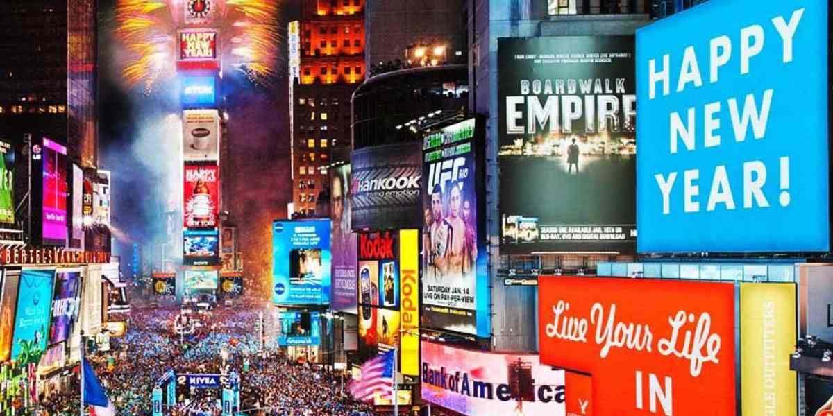 Cancelan por primera vez en 114 años fiesta de Año Nuevo en Times Square por Covid-19 | El Imparcial de Oaxaca