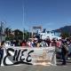 Marchan normalistas en memoria del 2 de octubre