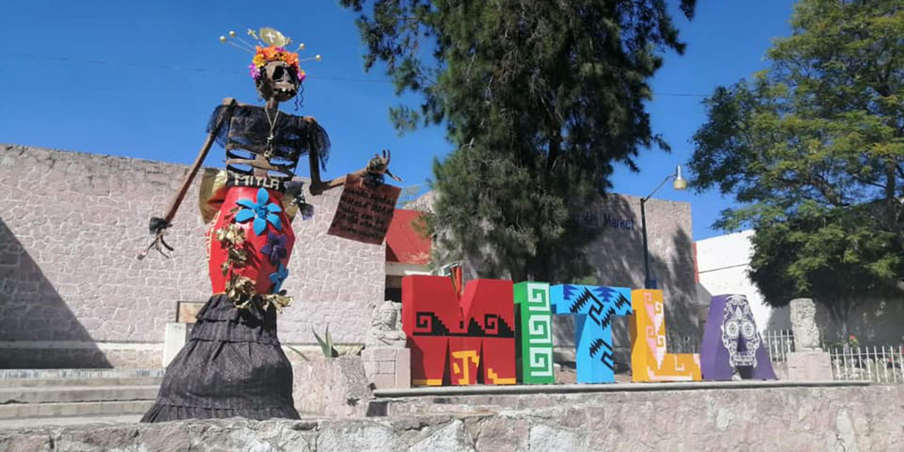 Mitla expone catrinas en medio de pandemia | El Imparcial de Oaxaca