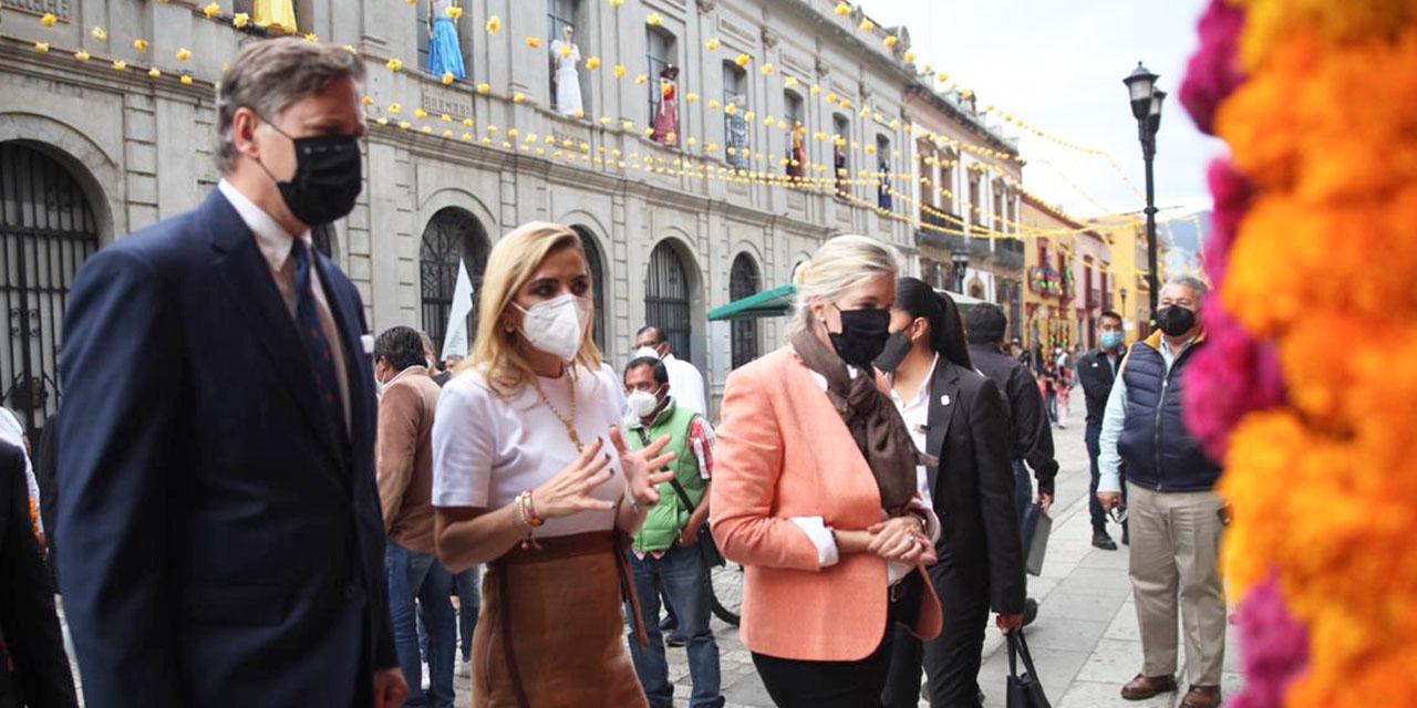 Murat impulsa Interoceánico frente al embajador Landau | El Imparcial de Oaxaca