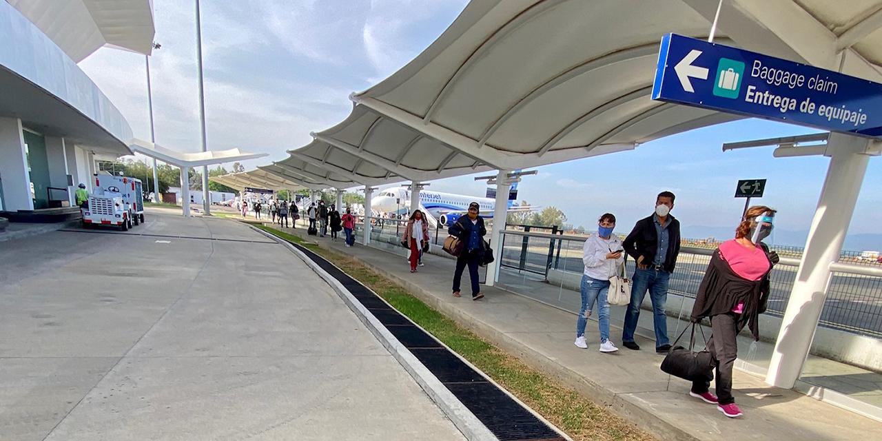 Aeropuerto de Oaxaca saldrá de crisis hasta 2022