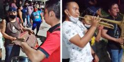 Detienen a un maestro por organizar calenda en Huamelula