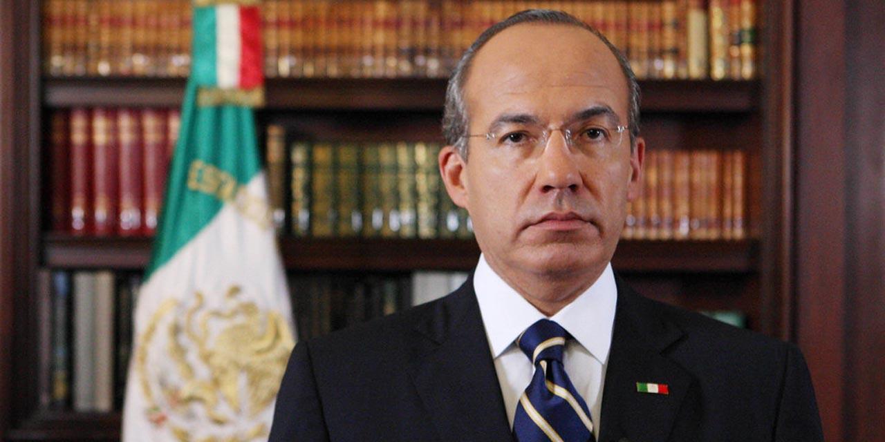 'Avanza autoritarismo', dice Felipe Calderón luego de que le negaran registro a México Libre   El Imparcial de Oaxaca