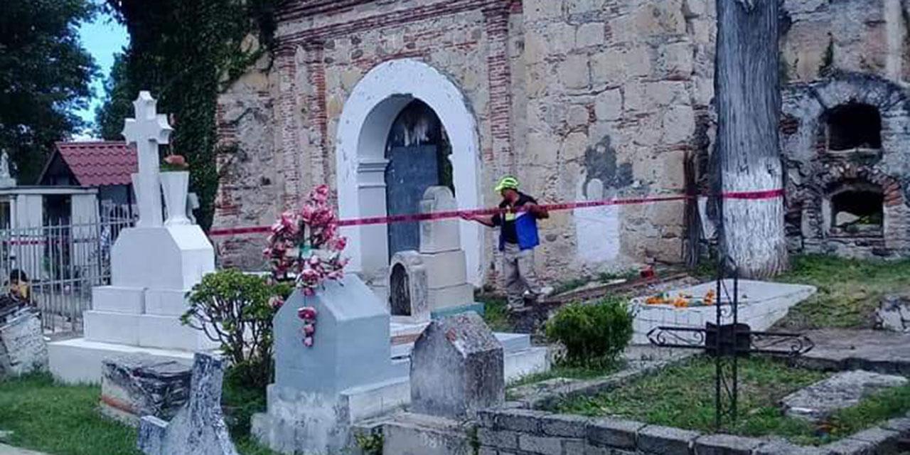 Cancelan fiestas de muertos en Tlaxiaco por Covid-19