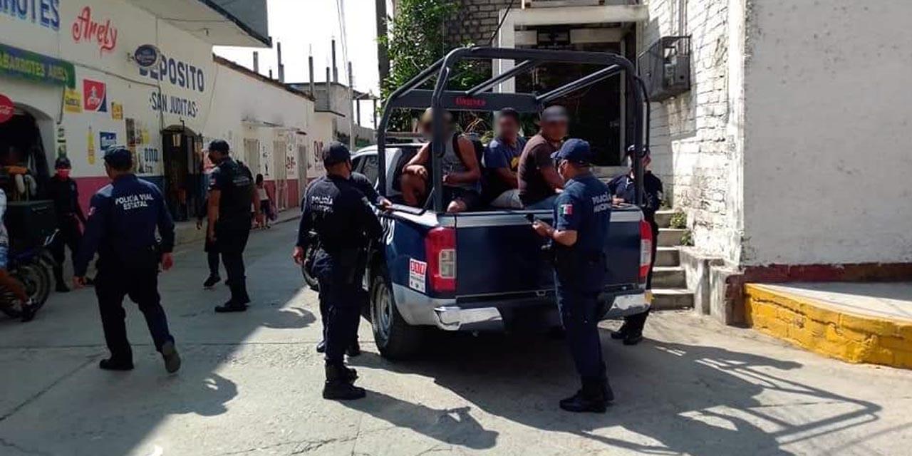 Inician arrestos en la Costa de Oaxaca por no usar cubrebocas | El Imparcial de Oaxaca