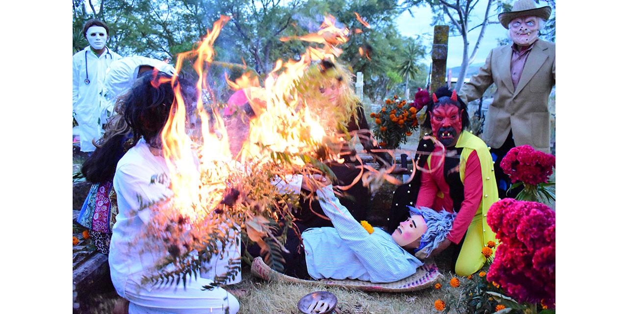 A pesar de la pandemia, perviven tradiciones en Suchilquitongo