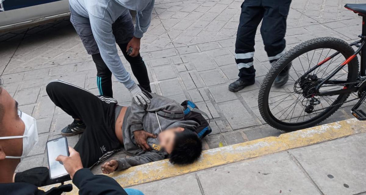 Ciclista es arrolado en el centro   El Imparcial de Oaxaca