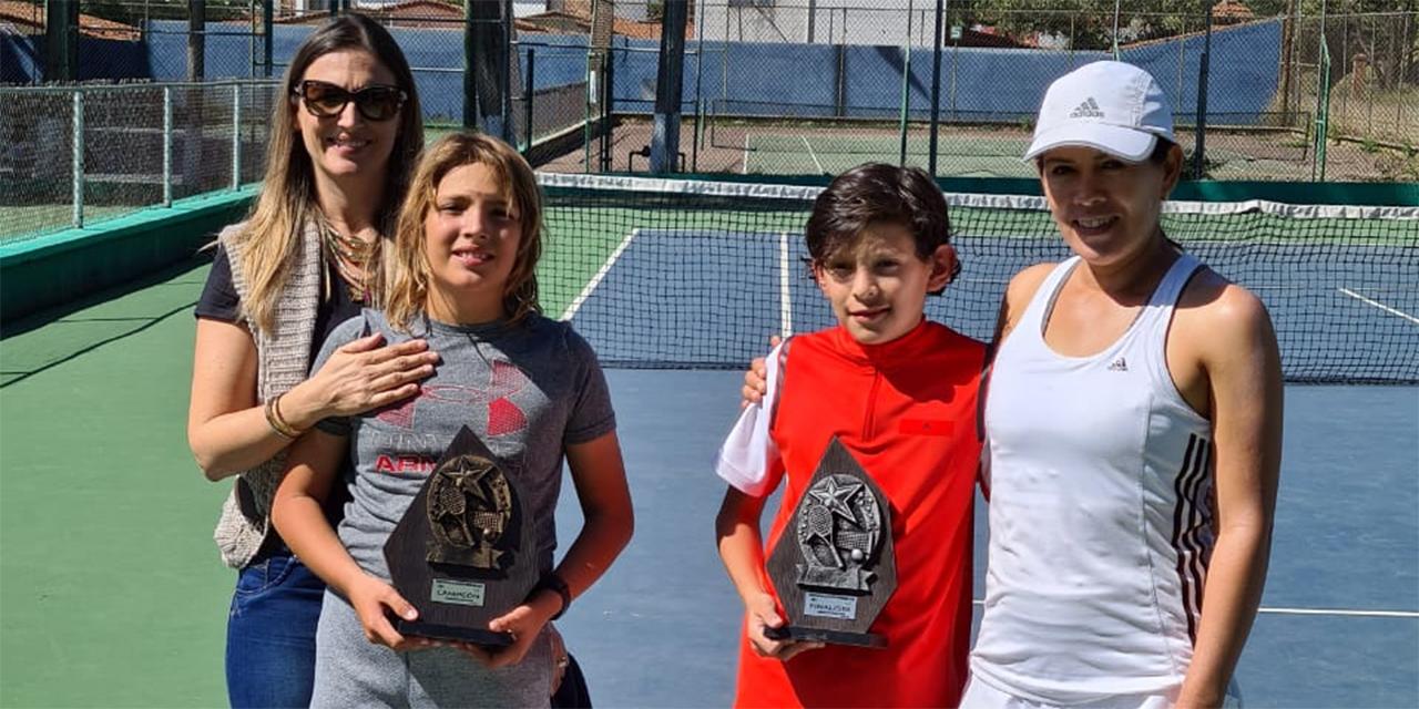 ¡Ya hay campeones del Torneo Nueva Normalidad de Tenis!