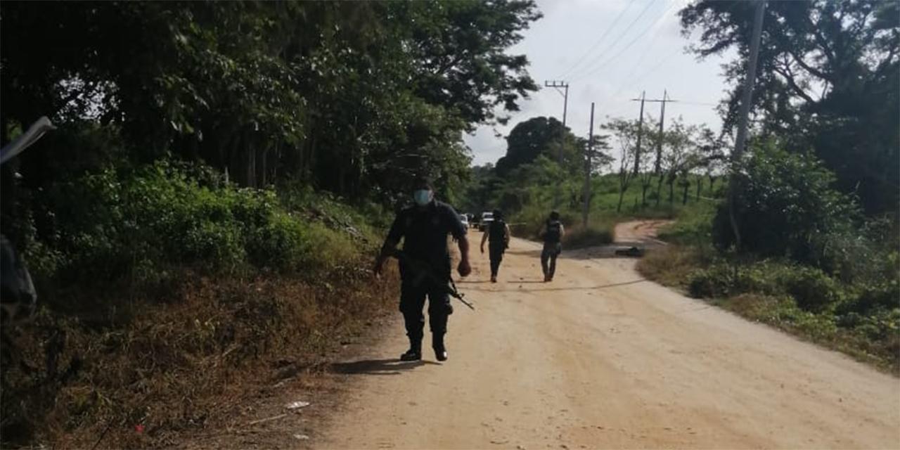 Ejecutan a 5 personas en San Juan Cotzocón