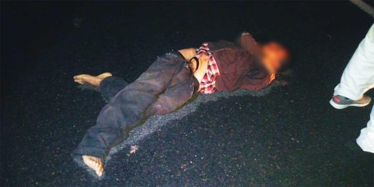Hombre muere arrollado en carretera a Nochixtlán   El Imparcial de Oaxaca