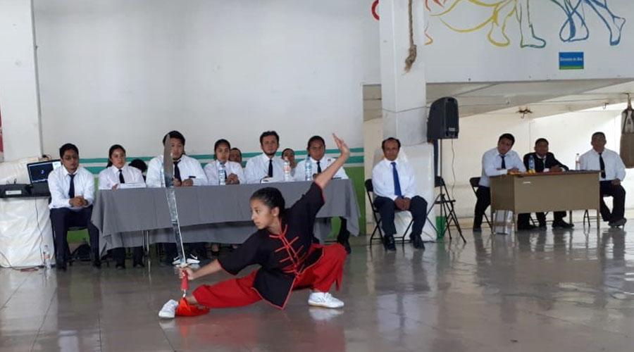 Con las medidas de salud adecuadas retomarán clases presenciales en la Moc Chai de Wushu | El Imparcial de Oaxaca
