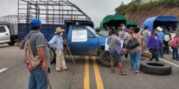 Denuncian a los manifestantes de Matías Romero