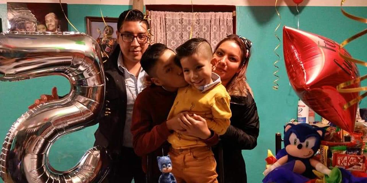Matías Tinoco celebró sus cinco añitos de vida