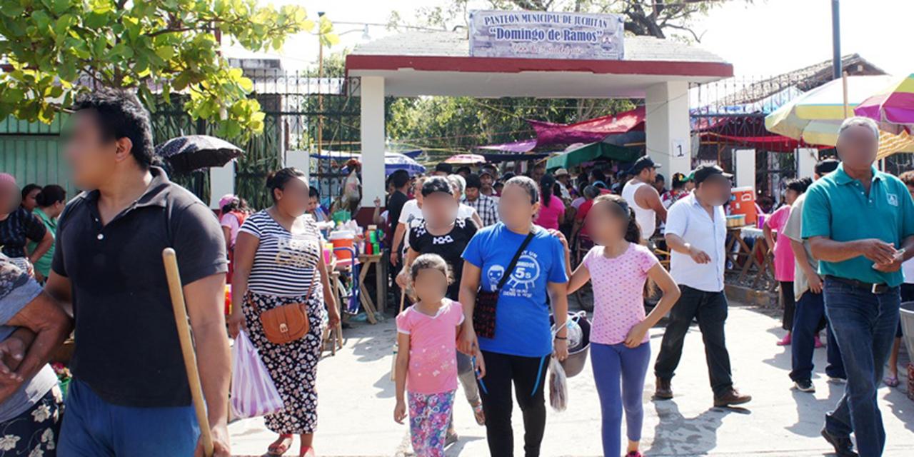 Cierran panteones de Juchitán para evitar concentraciones