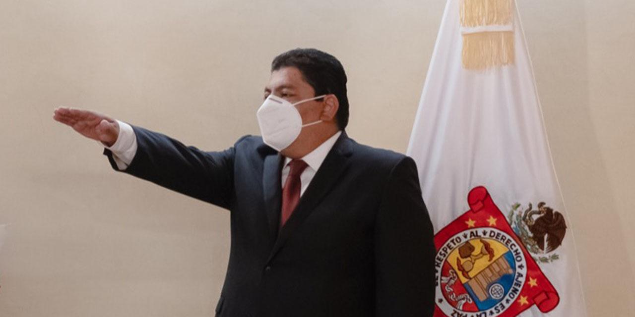 Francisco García López asume titularidad de Segego | El Imparcial de Oaxaca