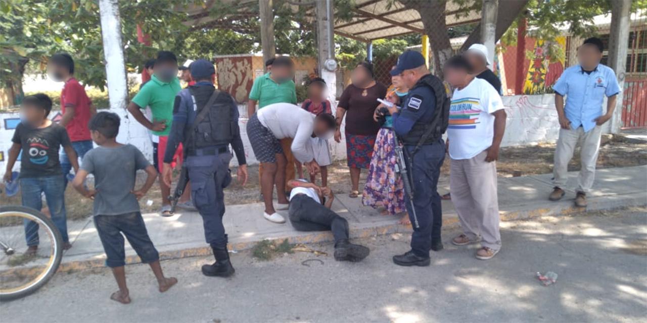 Motociclista derrapa en Juchitán | El Imparcial de Oaxaca