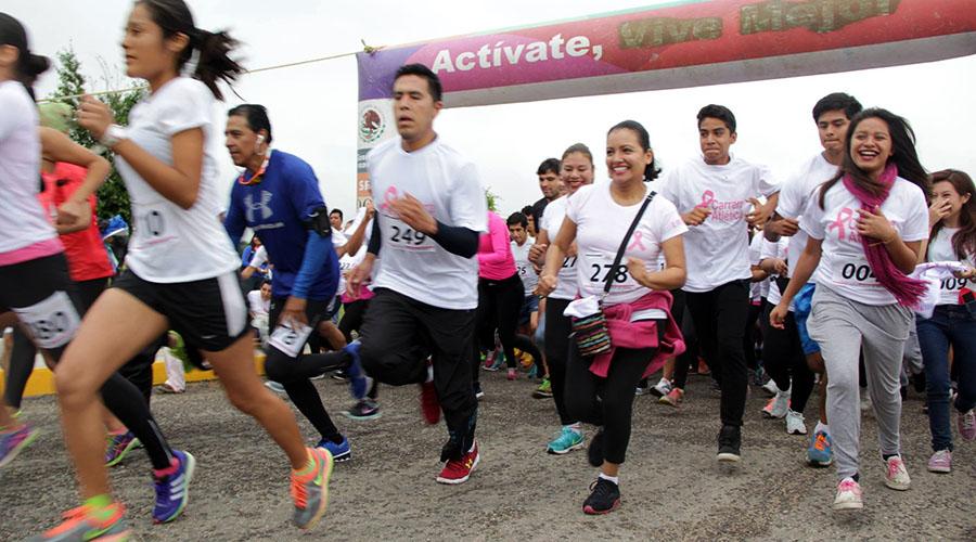 Corrieron de forma virtual contra el cáncer de mama | El Imparcial de Oaxaca