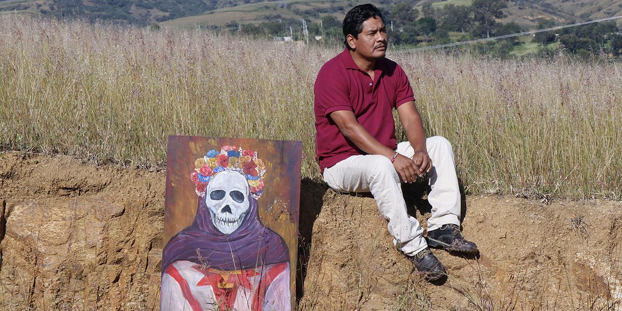 Patro García refleja las tradiciones en su obra