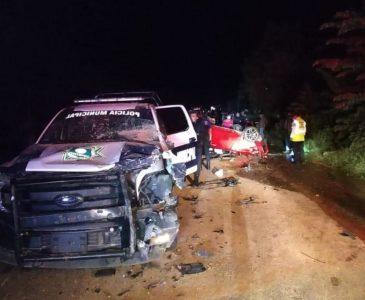 Volcadura mortal en costa de Oaxaca