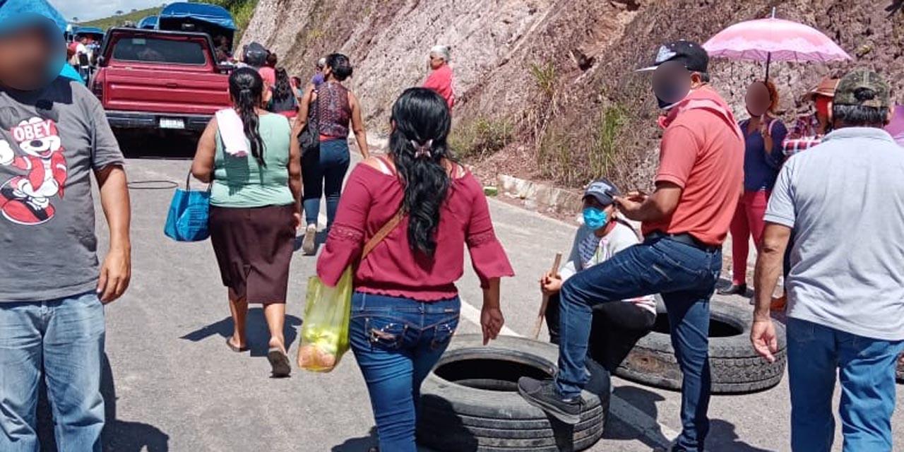 Levantan bloqueo en Matías Romero