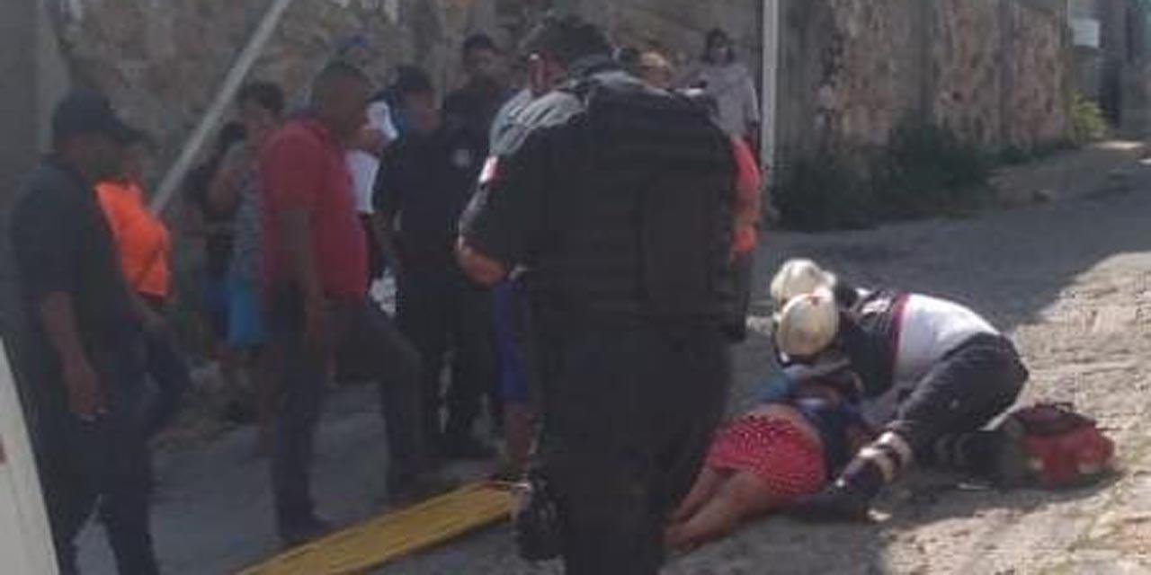 Mujer cae y se lesiona en Salina Cruz   El Imparcial de Oaxaca